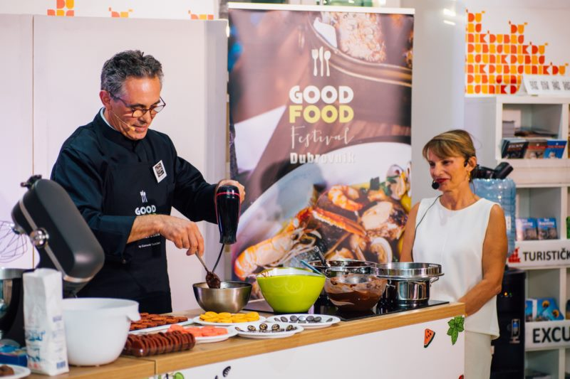Famous French pastry chef hosted two workshops