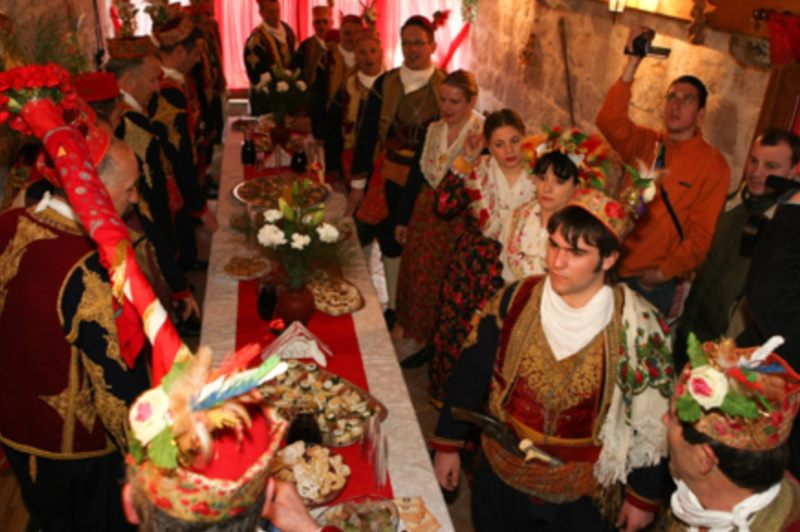 Wedding traditions at the Dubrovnik littoral area