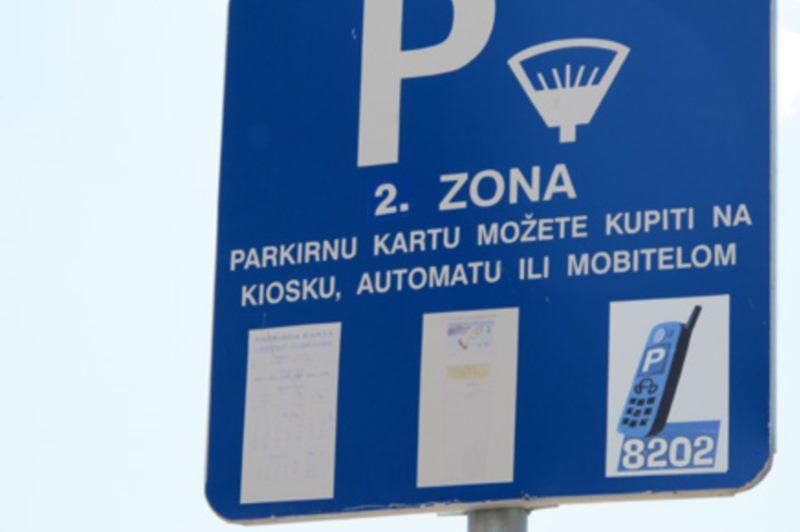 Street parking lots