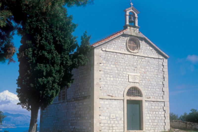 The Votive Church of St Blaise on Gorica