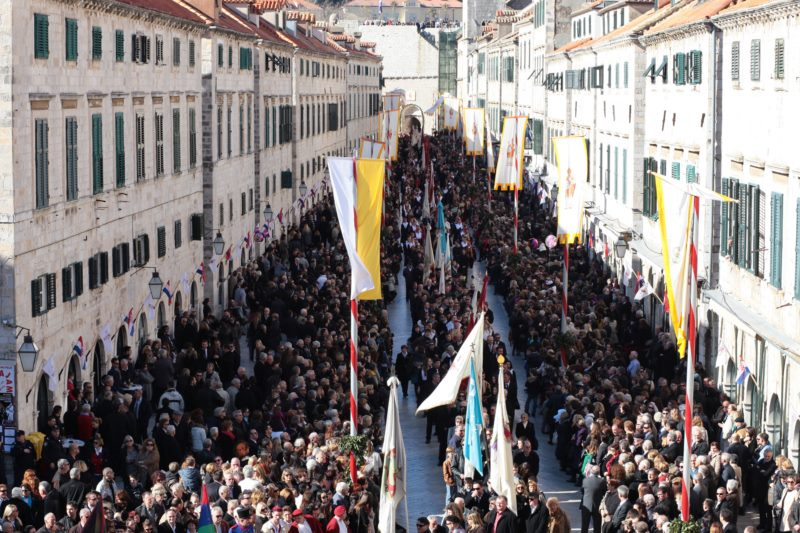 Opening Ceremony of the Festivity of St. Blaise