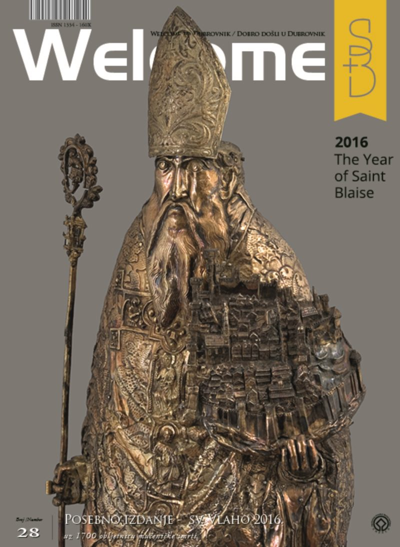 A special edition of Welcome to Dubrovnik dedicated to St. Blaise