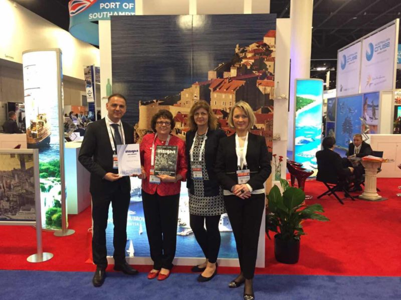 Dubrovnik Tourist Board at the SEATRADE Cruise Global trade fair in the United States