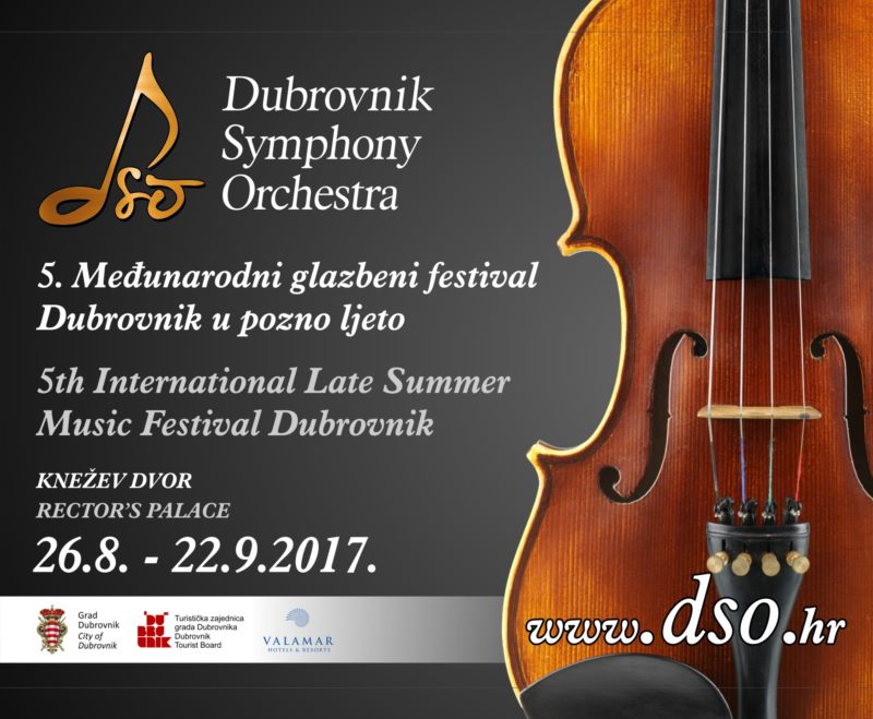 5th International Late Summer Music Festival Dubrovnik