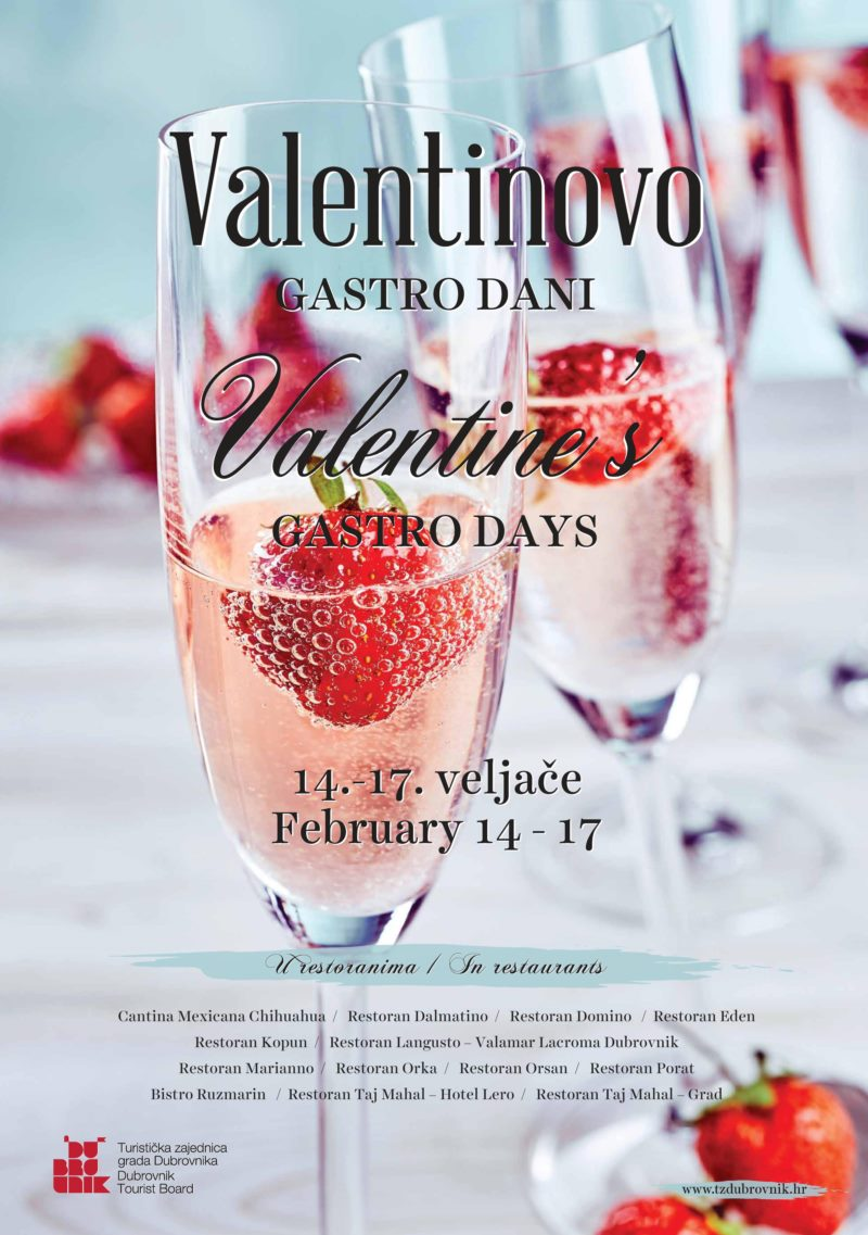 A romantic Valentine's Day with gastronomic delights