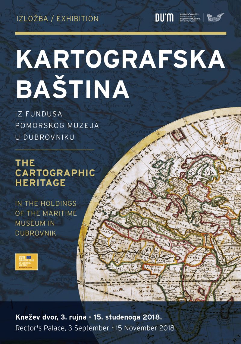 Cartographic Heritage Holdings from the Maritime Museum in Dubrovnik