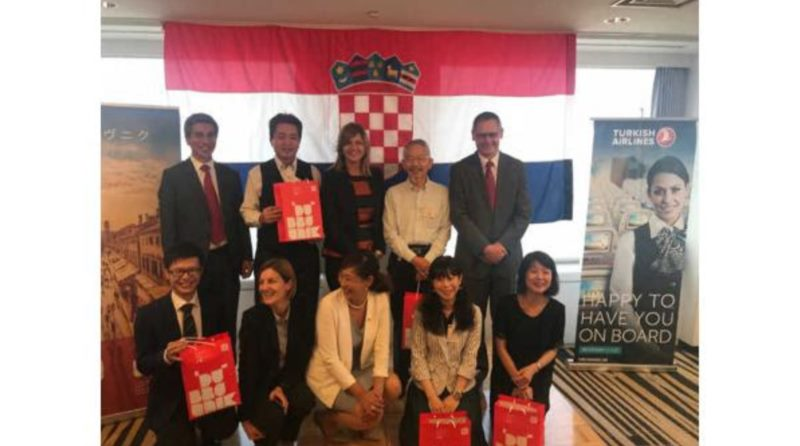 Tourist Presentation of Croatia and Dubrovnik in Tokyo