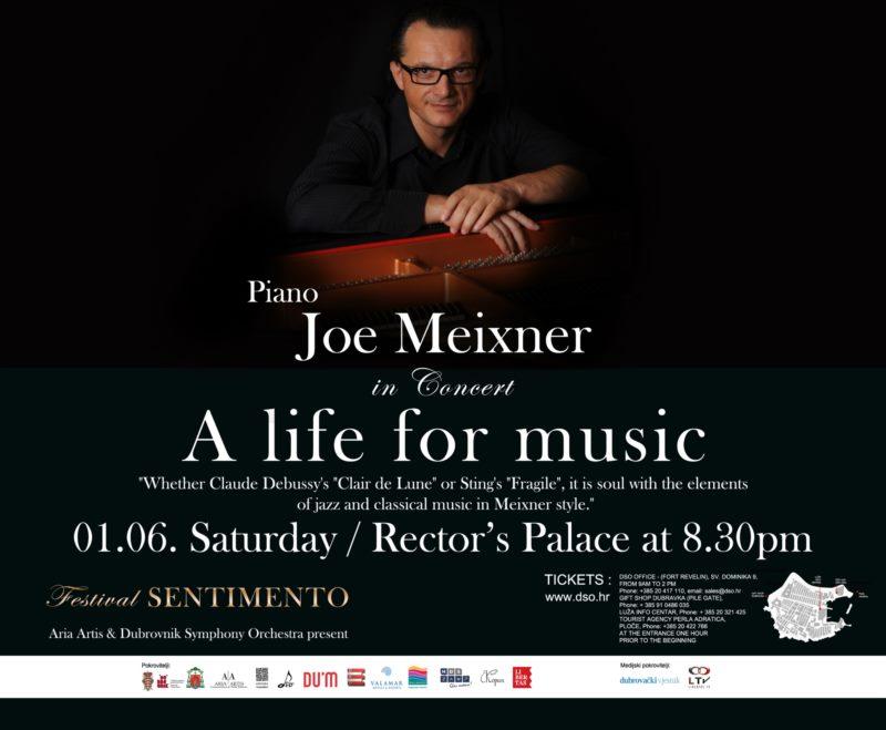 SENTIMENTO 2019.- Concert - Joe Mexiner, piano