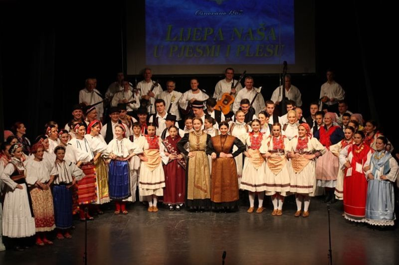 Performace of Croatian folklore assembly