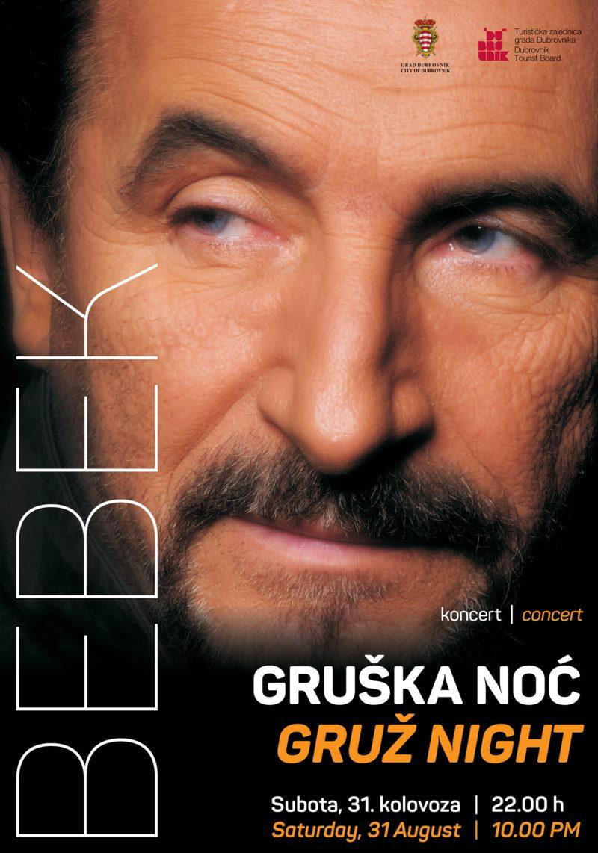 Gruž Night - concert Željko Bebek