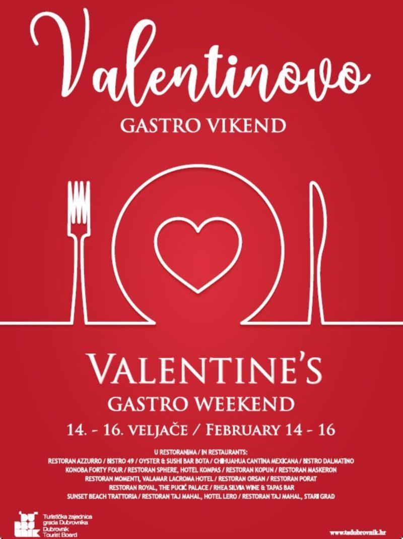 Valentines Gastro Weekend