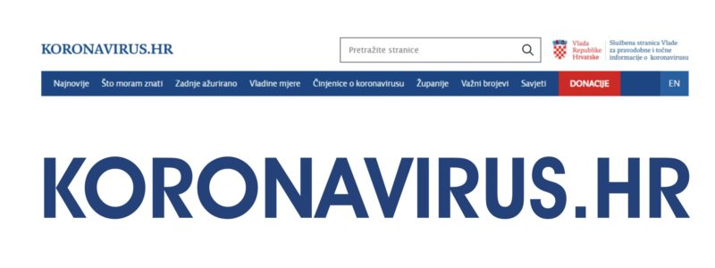 Official goverment website for accurate and verified information on coronavirus
