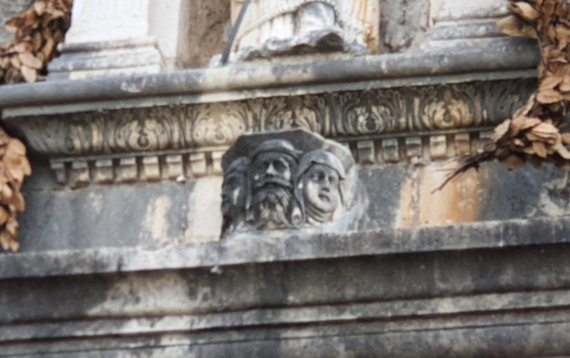 Stone Heads at Pile Gate
