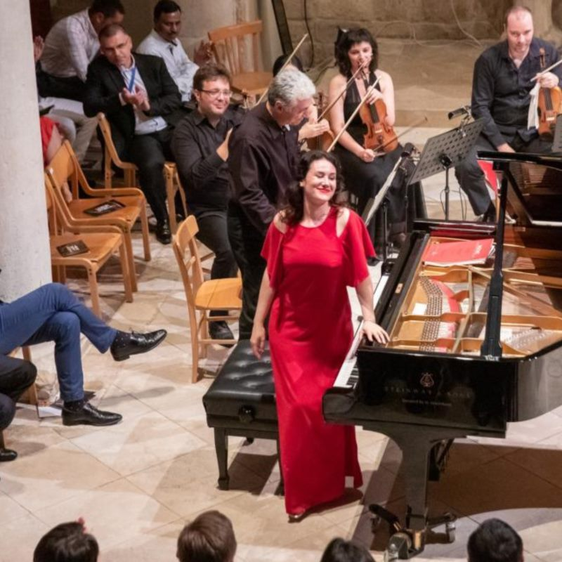 Martina Filjak, piano | Felix Klieser, horn | Andrej Bielow, violin