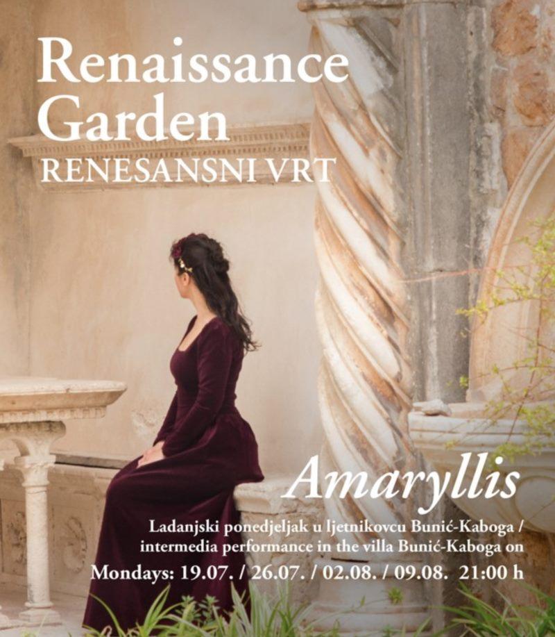 RENAISSANCE GARDEN 2021 - Amaryllis