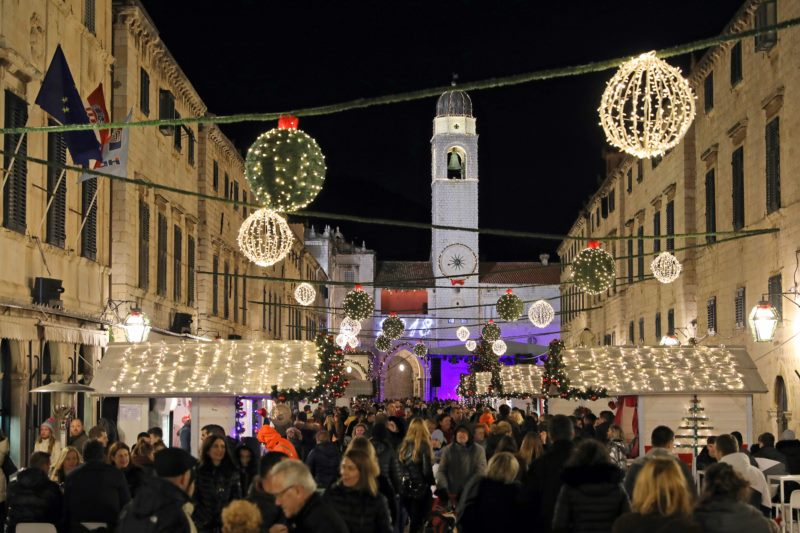 Dubrovniker Winterfestival 2017./18. und Silvester