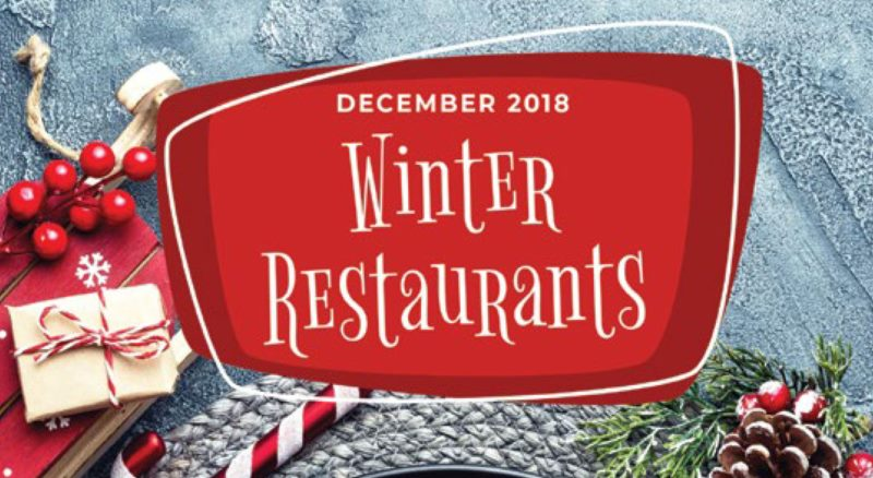 WHERE TO EAT THIS DECEMBER?