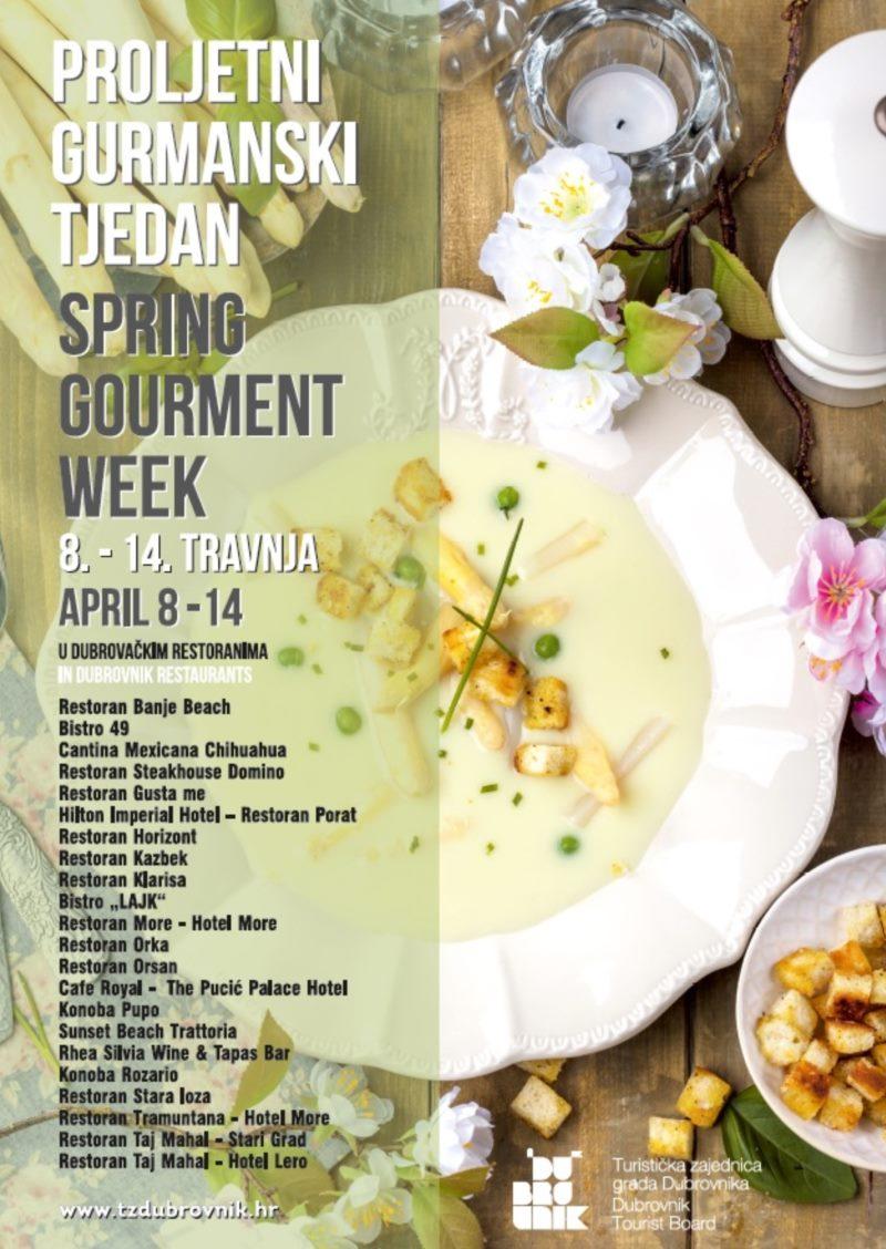 Spring Gourment Week