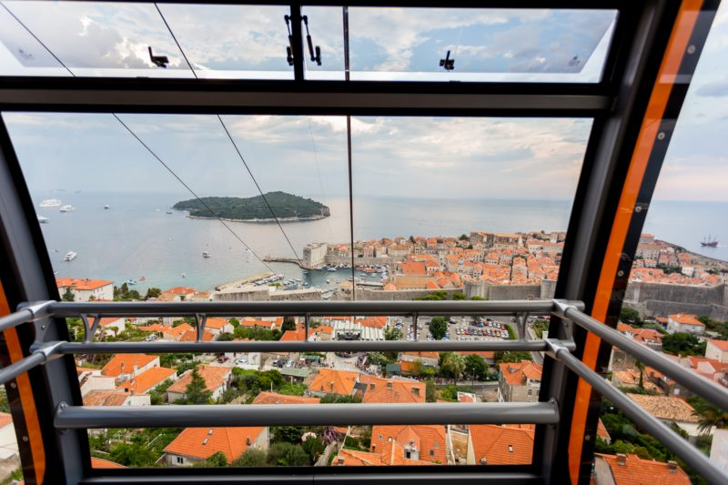 Dubrovnik Cable Car is temporarily closed