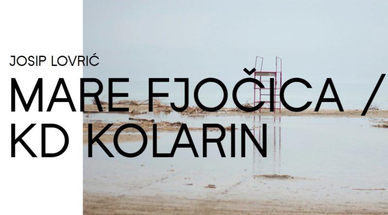 MARE FJOČICA / KD KOLARIN - prepremiere