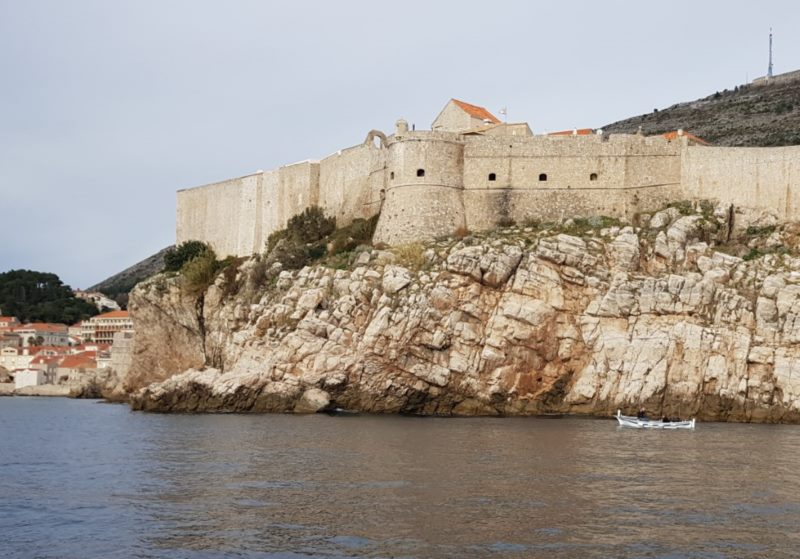 Dubrovnik on a Rock of Music