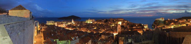 Dubrovnik en automne