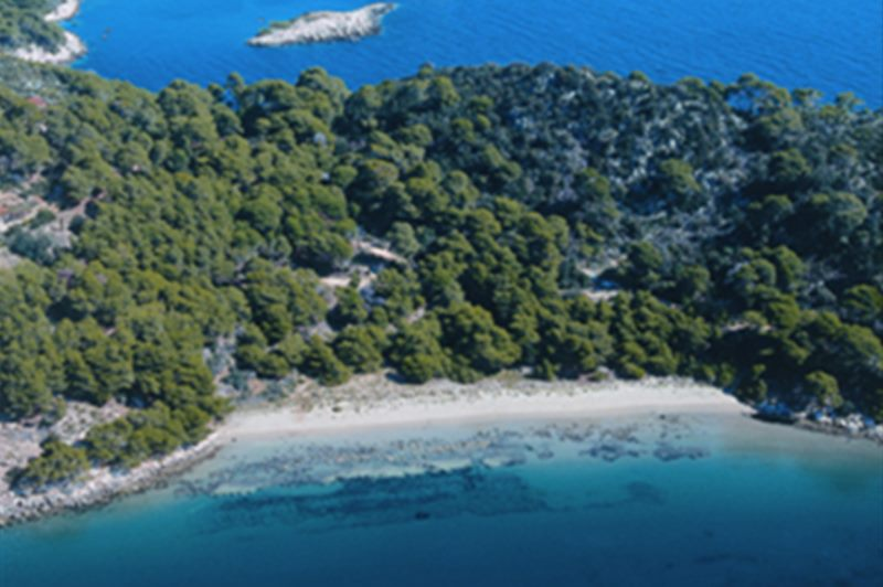 Le parc national de Mljet