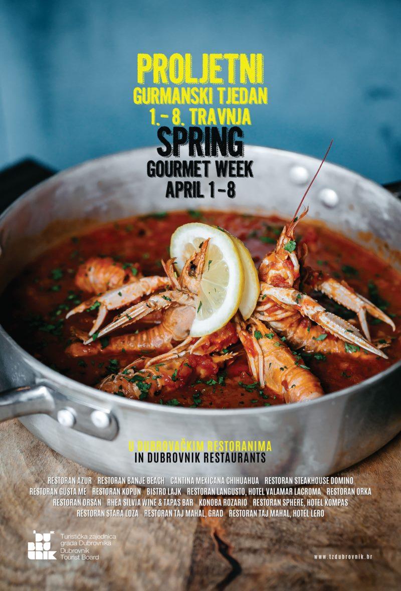 Spring Gourmet Week