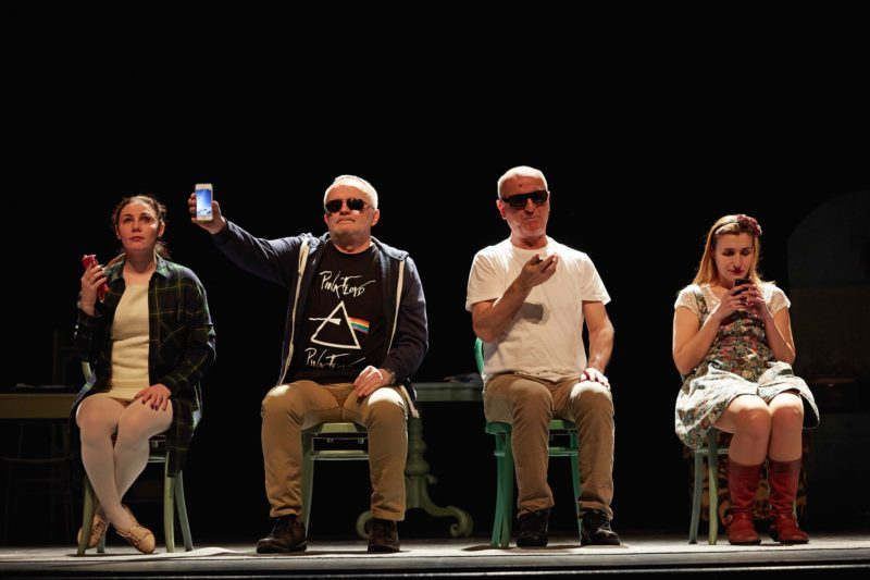 "Festival Ana in The City - Theater of blind and visually impaired people ""New Life"""