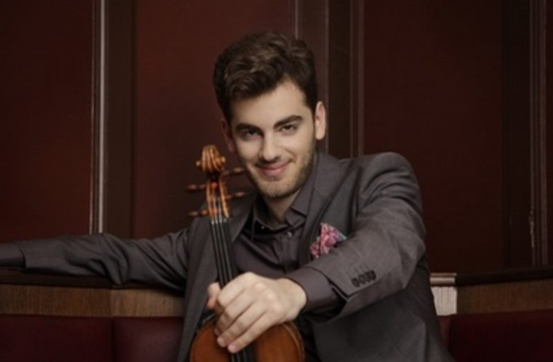 Opening of the International Late Summer Festival: DSO / Nicholas Milton, conductor / Emmanuel Tjeknavorian, violin