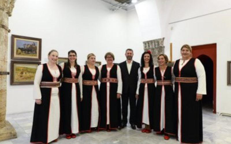 Female vocal ensemble Cavtajke / Vlaho Kordić, vocal