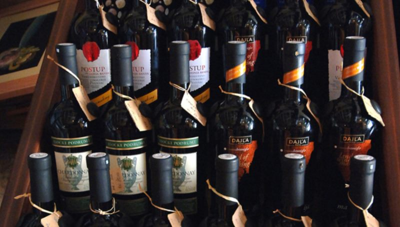 ドゥブロヴニクのワイン