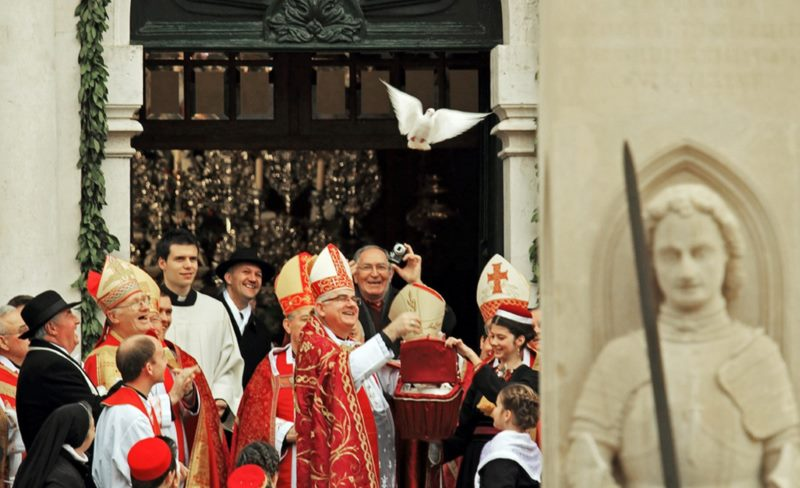 Opening Ceremony of the Festivity of St Blaise