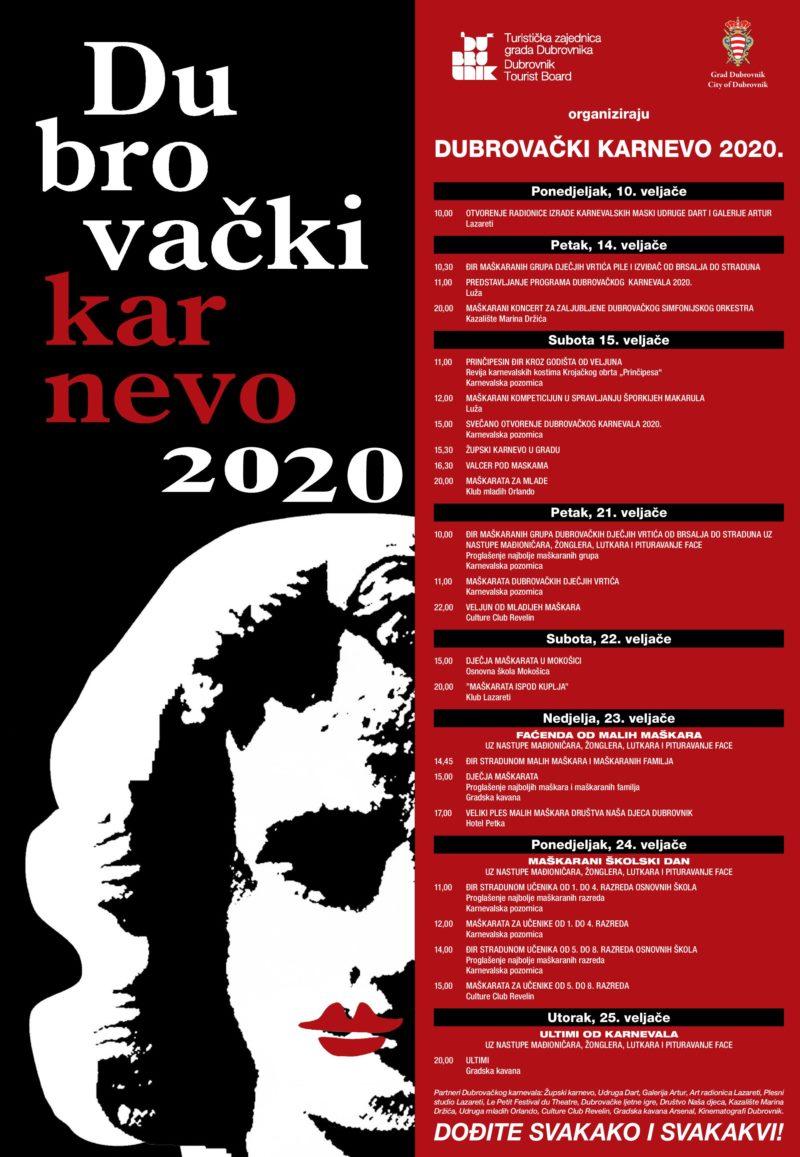 DUBROVNIK CARNIVAL 2020