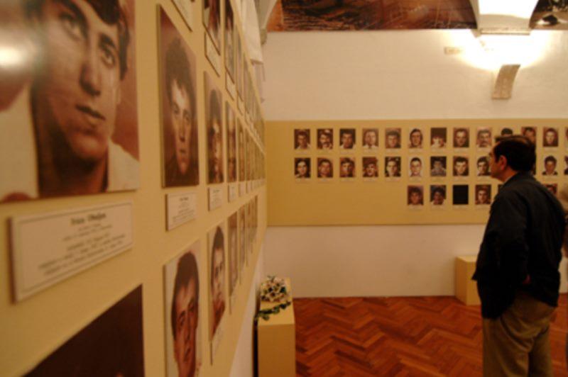 Мемориальная комната погибшим в защитникам.