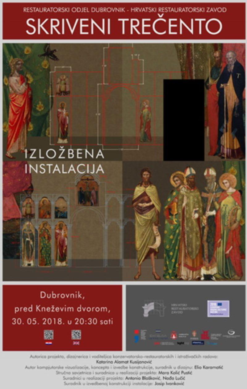 Exhibition opening - instalation