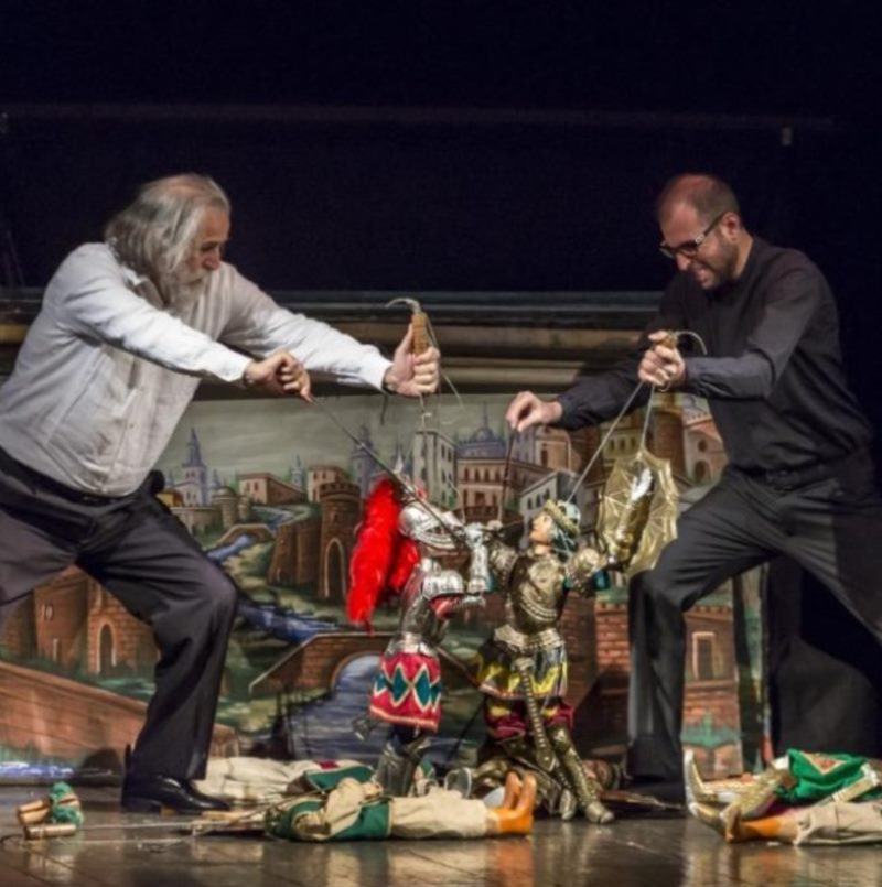 ASSOCIAZIONE FIGLI D'ARTE CUTICCHIO: THE FRENZY OF ORLANDO